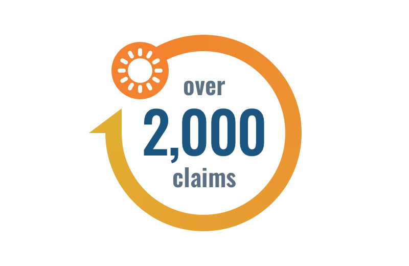 Over 2000 claims